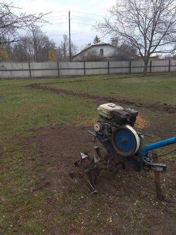 Культивация мотоблоком, покос травы любой сложности. Бензопила.