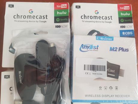MiraScreen / Anycast / ChromeCast (youtube, facebook, netflix, mobdro)