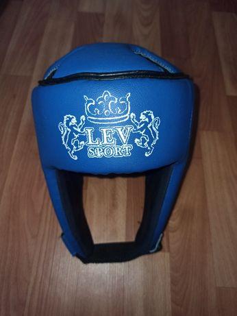Шлем боксерский Lev sport кожзам, размер L