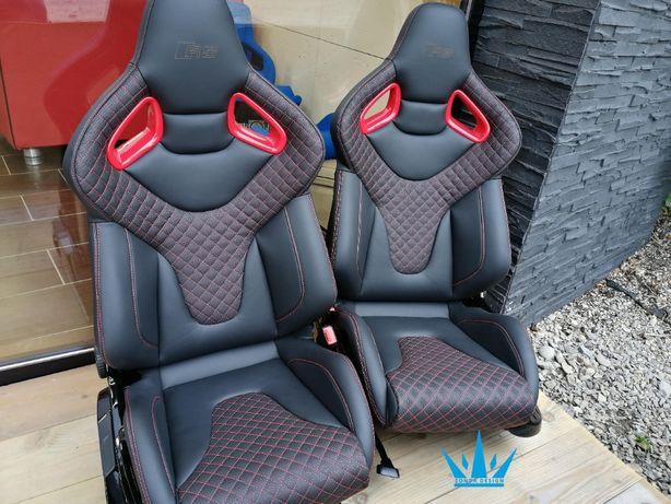 Fotele Audi RS Wingback Motorsport seats new original R8 rs6 rs7 r32