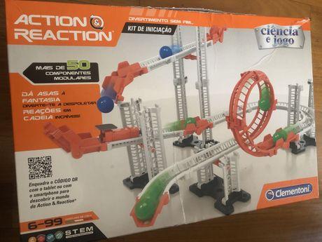Tunel ikea e jogo bolas action and reaction