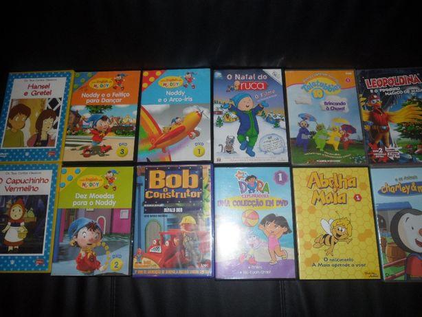 DVD de animação infatil originais