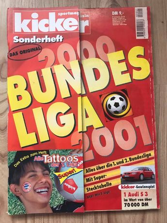 Skarb Kibica Kicker Liga Niemiecka 2000/01