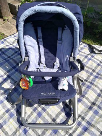 Fotelik krzesełko bujaczek McLaren Rocker dla dziecka do karmienia