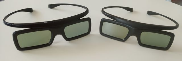 Okulary 3D Samsung active glasses