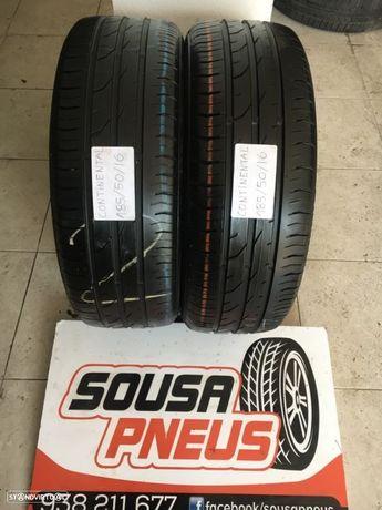 2 pneus continental 185-50-16 Oferta dos portes