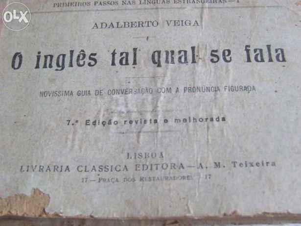 O inglês tal qual se fala 1905