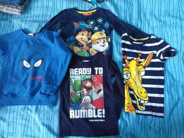 Bluza i 4 koszulki