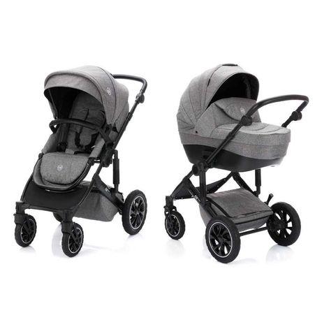 Nowy  wózek Fill dziecięcy Set Tiger Grey Melange
