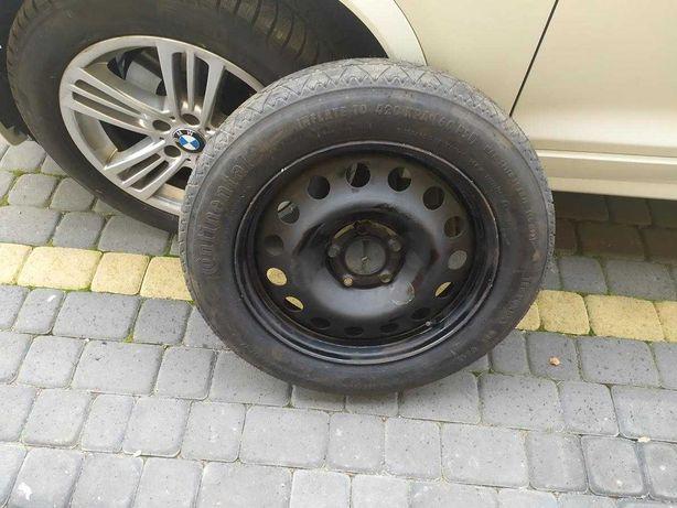 Koło dojazdowe zapasowe opona felga BMW 135/80/R17 x3