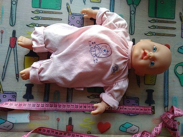 Мягкотелый мягконабивной кукла-пупс Zapf Creation