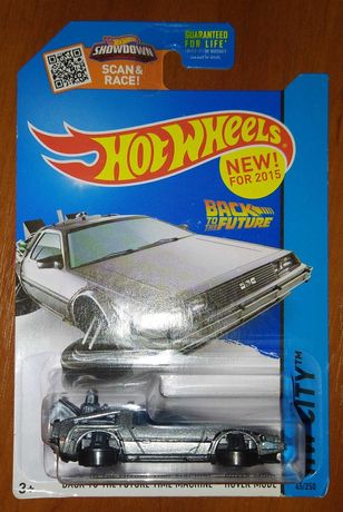 """Hot Wheels - Back To The Future """"Time Machine"""" (Назад в будущее) hover"""