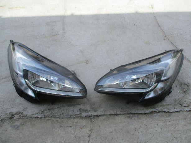 Opel Corsa E lampa lewa prawa reflektor lewy prawy komplet LED