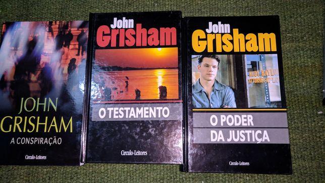 John grisham, Morris West, Michael Palmer, John le carre