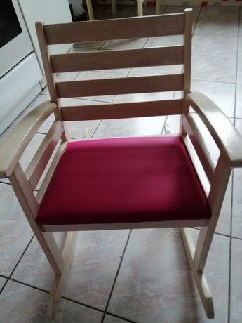 Fotel bujany dla dziecka