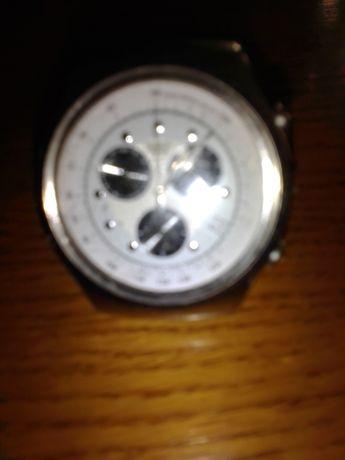 часы swatch швейцария,хронограф.
