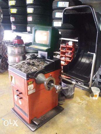 Máquina de calibrar pneus