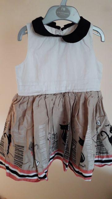 Piękna sukienka dla dziewczynki Matalan