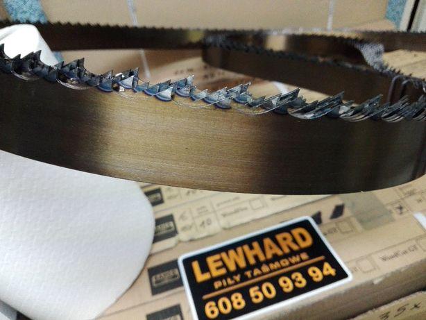 Mocna Niemiecka Piła taśmowa do drewna LEWHARD Gold 35x1.1x4000 ROH