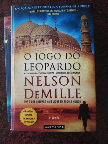 O Jogo do Leopardo - de Nelson DeMille - NOVO