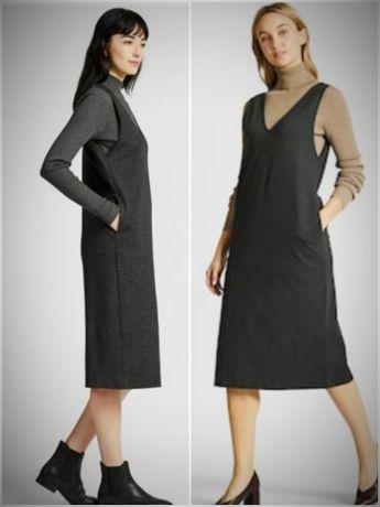 Платье сарафан Uniqlo р.S