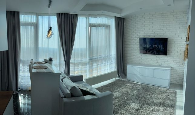 Стильная квартира в 22 Жемчужине с красивым видом!(U)