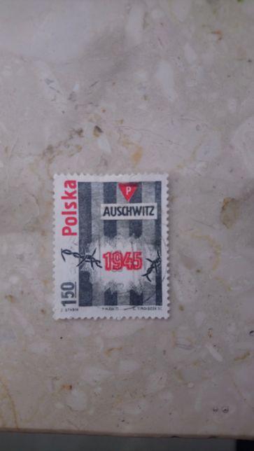 Znaczek Auschwitz 1945
