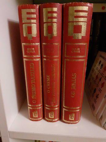 Livros Eça de Queiroz antigos