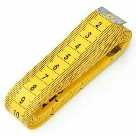 Сантиметр портной, метр, мягкая измерительная линейка для шитья 3метра