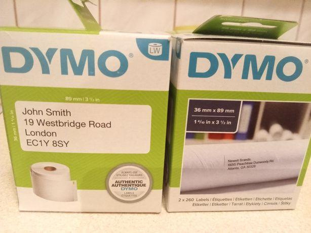 Etykiety Dymo 36x89