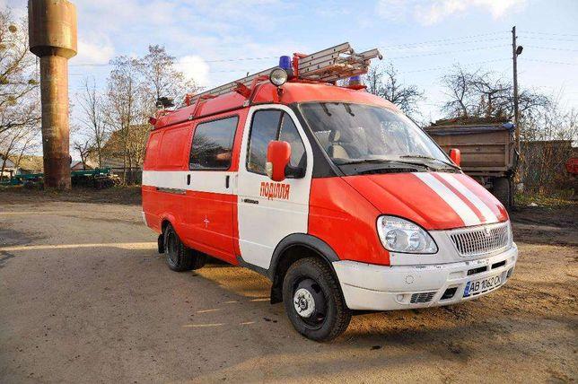 Пожежний автомобіль ГАЗ 2705