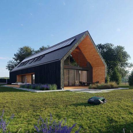 Каркасные дома в стиле БарнХаус Модульные дома Дачные дома
