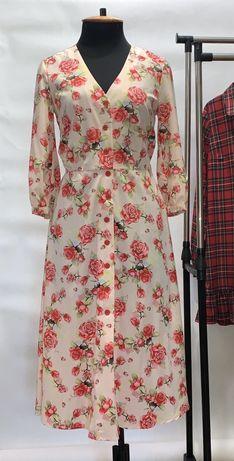 Нарядное платье софт 46р