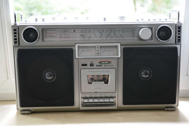 Radiomagnetofon CROWN CSC-980