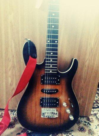 Електро гитара с усилителем!