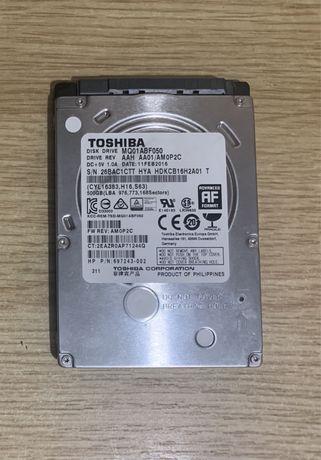 Жорсткий диск для ноутбука Hdd 500 gb Toshiba