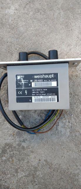 Transformator zapłonowy Weishaupt w-zg 02/2 palnik g5 g7