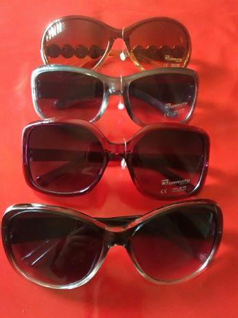 4 pary okularów przeciwsłonecznych