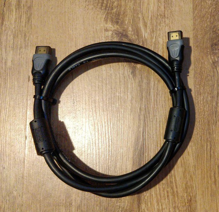 Kabel HDMI gruby ekranowany 180cm 2 x filtr Zielona Góra - image 1