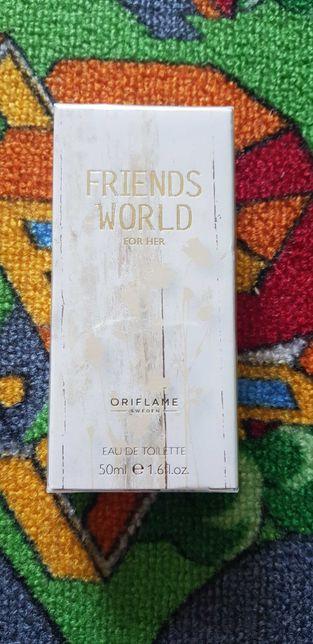 Oriflame Friends World for her, 50 ml nowe w folii