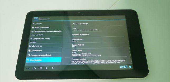 Продам планшет Ployer Momo 7'
