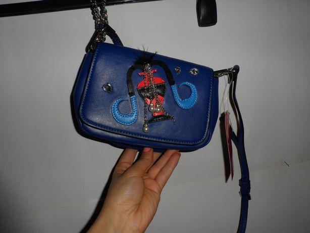 Стильна сумочка zara на довгому ремінці 250 грн