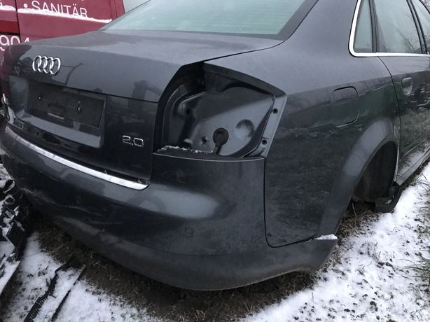 Klapa zderzak audi a4 b6 sedan ly7w