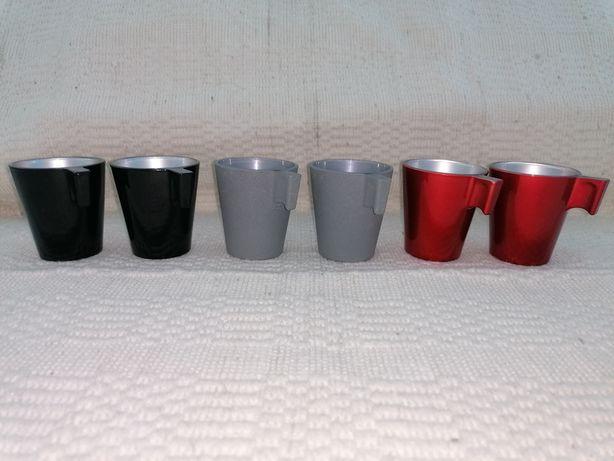Conjunto de 6 chávenas de café - NOVAS