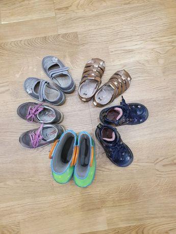 Обувь на девочку 22-23 размеры (ботинки, макасины, босоножки, сапоги)