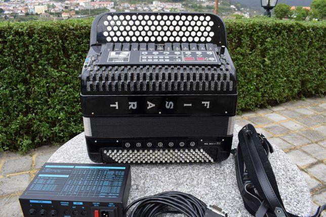 Acordeao  FISART 4 VOZ Com Sistema Midi, N . 87