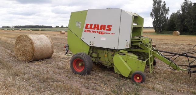 Claas rollant 46 rc 250 rotor noze prasa