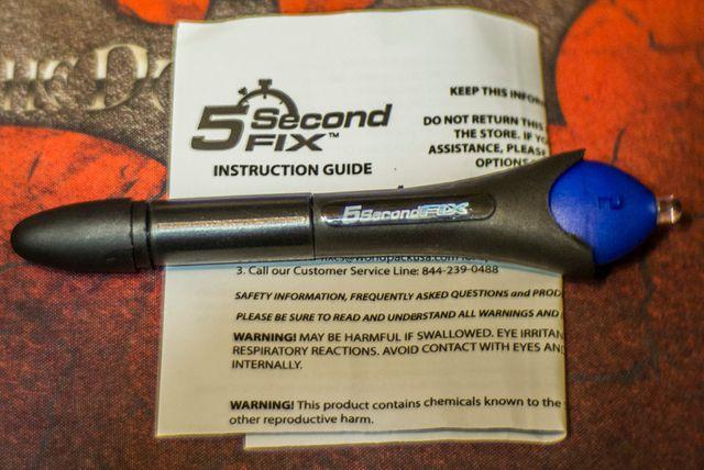 5 second Fix клей пластик за 5 секунд