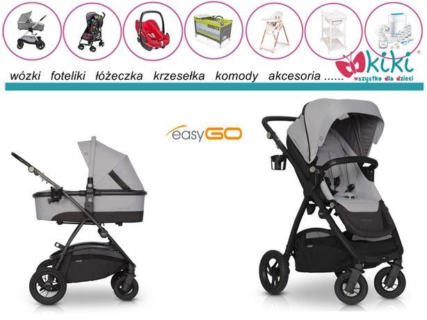 EasyGo wózek optimo Pearl 2w1 możliwość opcji 3w1