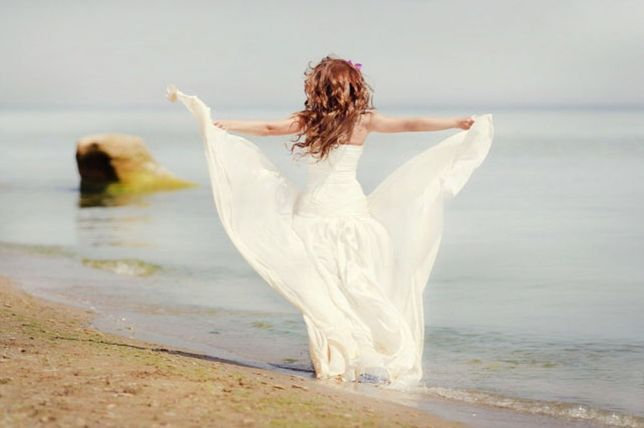 свадебное/коктейльное/вечернее платье ELLE SAAB